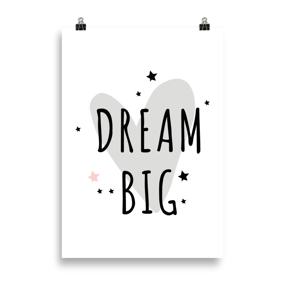 Dream big cute